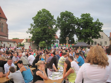 Sommernacht in Moosburg 2013