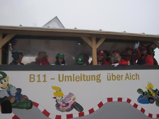 Faschingsumzug 2015 in Moosburg